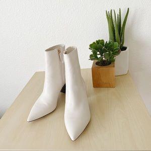 J.CREW Soft basic leather pointy toe maya boot